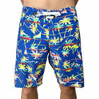 VOLCOM. Jazzy Blue / Palm Tree Mens BoardShort. Mens Size 29, 32, 34, 38.