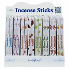 NEW STAMFORD HEXAGONAL 20 PACK INCENSE STICKS MANY VARIETY FREE UK DELIVERY