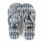 Havaianas Unisex Star Wars Rubber Slip On Flip Flop Steel Grey