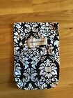 EUC Black & White Damask Diapees & Wipees Bag - So Great!
