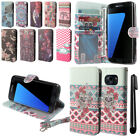 For Samsung Galaxy S7 Edge G935 Flip POUCH Wallet LEATHER Case Phone Cover + Pen