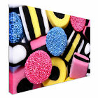 Licorice Allsorts Sweets Canvas Wall Art prints high quality