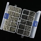 800pcs 10 Sizes Assorted Jig Sharpened Fishing Hooks Lures Baits With Tackle Box