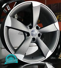 "17"" TTRS STYLE ALLOY WHEELS A1 A3 TT GOLF POLO FABIA LEON IBIZA BEETLE"