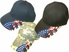 Soldier silhouetter USA flag hat cap patriotic black navy digital camo Rockpoint