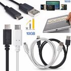 1M USB 3.1 Reversible Type C to USB 2.0 A 10GB/S Charge Sync Cable For Mobile