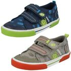 Boys Startrite Machine Washable Canvas Pumps Big Bug