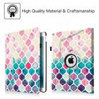 "360 Rotating Case Cover For Apple iPad Pro 9.7"" & 12.9"" with Apple Pencil Holder"