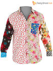 Foul Fashion Mens Casual Patterned Shirt Adult Stag Night Fun Fancy Dress Unique