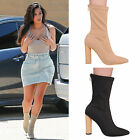LADIES WOMENS HIGH HEEL ANKLE BOOT CASUAL FASHION FORMAL PARTY ZIP UP SHOES