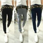 Men Pocket trousers long harem pants casual Camo feet pants hip-hop Sweatpants
