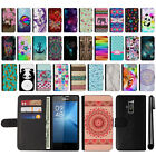 For Coolpad Rogue 3320A Design Flip Wallet Leather POUCH Case Cover + Pen
