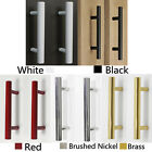 Modern Satinless Steel T bar Kitchen Cabinet Door Handles Drawer Pulls/Knobs Lot