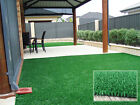 NEW Artificial Fake Faux Grass Outdoor Garden Interior Exterior Lawn Sheet Mat