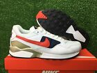NEW NIKE AIR PEGASUS 92 PREM USA OLYMPIC WHITE UNIVERSITY RED NAVY 844964-100