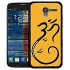 Hari Om Ganesh Printed Designer Mobile Back Cover for MOTO E, G, G2, G3, X, X2