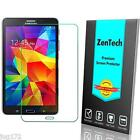 2X ZenTech® Tempered Glass Screen Protector for Samsung Galaxy Tab 4 7 & 8 inch