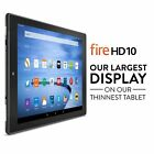 "NEW Amazon Fire HD Tablet 10"" 8GB 16GB 32GB 64GB Black White Silver"