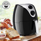 1500W Electric Air Fryer Cooker with Rapid Air Circulation System Low-Fat Black
