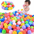 10 20 50X Soft Plastic Colorful Baby Kids Secure Ocean Ball Pits Swim Pool Toys