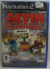 ALVIN AND THE CHIPMUNKS PS2 PLAYSTATION 2 TWO EUROPEAN PAL BRAND NEW & SEALED