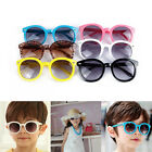 Toddler Kids Boy Girl Candy Color Glasses Round Sunglasses Eyewear 6 Color Cool