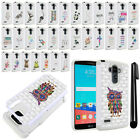 For LG G Stylo LS770 Vista 2 H740 G4 Note Crystal Bling HYBRID Case Cover + Pen