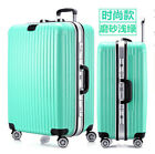 Frosted ABS+PC Aluminum Frame Trolley Case Boarding Travel Bag Luggage Suitcase