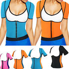 Light Neoprene Vest with Sleeves Exercise Gym Sweat Sauna Shaper for Weight Loss