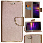 ROSE GOLD DIARY WALLET STYLE FLIP FLAP COVER CASE For XOLO ERA 4G