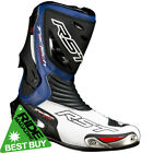 RST Tractech Evo Motorcycle Sports Race Boots - Blue