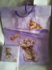 17x Kitten 'Trapped' Gift Bag & card, envelope, tissue paper WHOLESALE JOB LOT