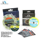 Fly Line Combo WF 1/2/3/4/5/6/7/8F Fly Fishing Floating Line & Backing & Leader