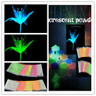 New Fluorescent Powder Glow in the Dark Powder Glow Pigment 10 Colors DIY Bright
