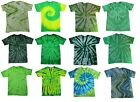 Pick a Green Tie Dye T-Shirt S M L XL 2XL 3XL 4XL 5XL Cotton Colortone-Gildan image