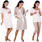Zeta Ville Women's Maternity Nursing Robe/Pyjamas/Nightdress MIX & MATCH - 770c
