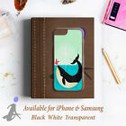 Whale Surf Big Fish Blue Sea Garden Hard Phone Case Cover H1055