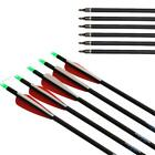 "6/12/24x Archery 30"" Mix Carbon Arrow Hunting Target for Recurve Compound Bow"