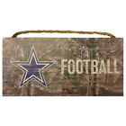 NFL Choose your own Team Realtree Logo Wooden Sign 6 X 12 New $12.95 USD on eBay