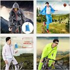 Women Men Bike Cycling Rainwear Suits Raincoat Bicycle Rain Pants Clothing Set