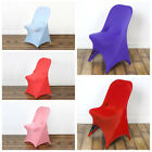 25 pcs Spandex Fitted Folding CHAIR COVERS for Wedding Reception Party Supplies