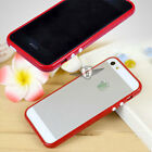 Slim Skin Case Cover Bumper Frame For Apple Iphone 5 5G Colorful
