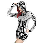 Killstar Kapuzen Kleid - Vulture Hood