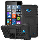 Shockproof Hybrid Rubber Protective Holder Hard Case Cover For Nokia Lumia Model
