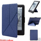 Ultra Slim Smart Magnetic Leather Case Cover For Amazon New Kindle Multi-Colour