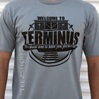 TERMINUS the walking dead cannibals zombie apocalypse outbreak Halloween T-Shirt image