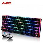 Ajazz AK33 82 Key Alloy Panel USB Wired  RG Backlight Mechanical Gaming Keyboard