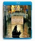 * Best Of Europe* Italy* Blu-ray*New and Factory Sealed*Free shipping in USA*