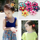 Appealin Sweet Flower Elastic  Ropes Kids Hair Ties Adorable Ponytail Holder BDA