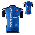 Mens Cycling Bike Clothing Bicycle Jersey Sport Short Sleeve Jacket Breathable